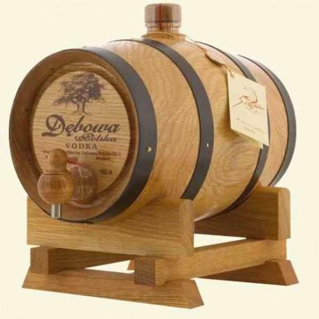 Dębowa Wódka / Oak Vodka 1,0L in barrel