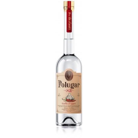 Polugar no2 Czosnek i Papryka 38,5% 0,5l