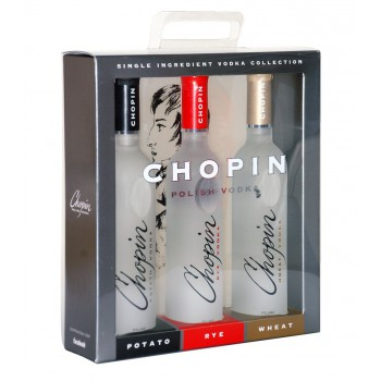 CHOPIN TRÓJPAK: POTATO, RYE, WHEAT 3X200ml