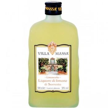 Limoncello Villa Massa 0,5L w kartoniku + kieliszki