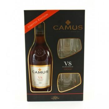 Camus VS Elegance Cognac + 2 szklanki