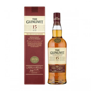 Glenlivet 15 Years Old French Oak Reserve 40% 0,7l