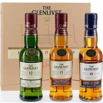 The Glenlivet trio 3X200ml