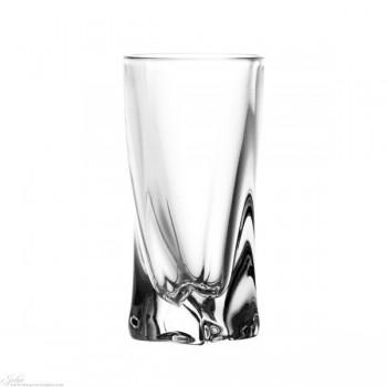 Kryształowe kieliszki do wódki - 6szt - nowoczesne
