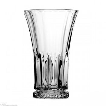 Kryształowe szklanki long drink - nowoczesne