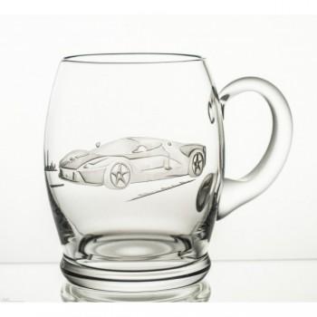 Kufle kryształowe do piwa - auto