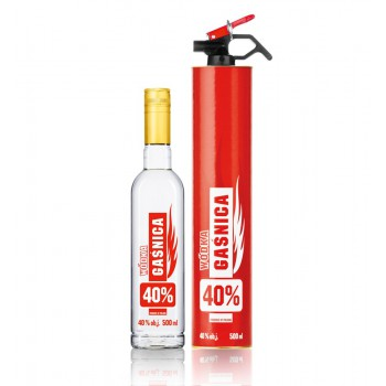 Wódka Gaśnica 40% 0,5l