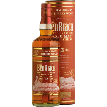 BENRIACH 12 YO SHERRY WOOD 46% 0,7 L
