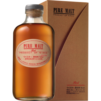 NIKKA PURE MALT RED KARTONIK 0,5 L