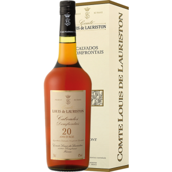 CALVADOS DOMFRONTAINS LAURISTON 20 YO