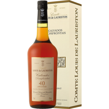 CALVADOS DOMFRONTAINS LAURISTON 40 YO