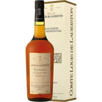 CALVADOS DOMFRONTAINS LAURISTON 1983