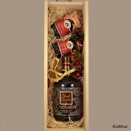 Zestaw świąteczny z Brandy z nutą cynamonu