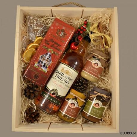 Zestaw świąteczny z whisky Highland's Friends