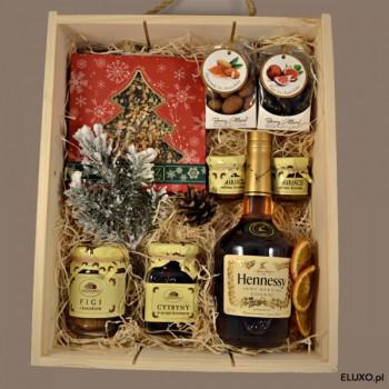 Zestaw świąteczny z koniakiem Hennessy