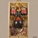 Zestaw upominkowy świąteczny z miodem pitnym Jadwiga