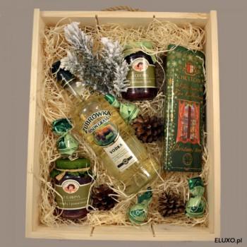 Zestaw upominkowy świąteczny z Żubrówką
