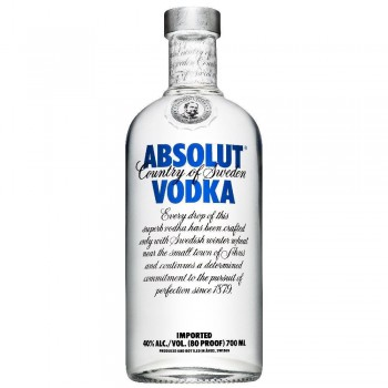 ABSOLUT BLUE  butelka 0,7L