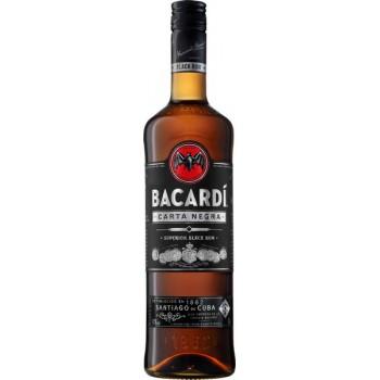 Bacardi Black Rum butelka 0.7L