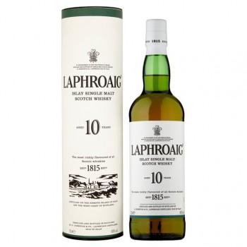 Laphroaig 10 YO w tubie 40% 0,7l