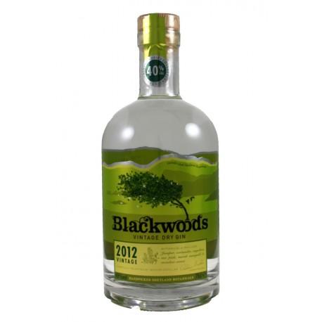 GIN BLACKWOOD'S VINTAGE DRY 2012  60%  0,7L