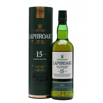 Laphroaig 15 yo 200th Anniversary Edition 43%