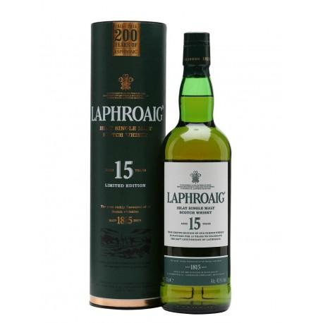 Laphroaig 15 yo 200th Anniversary Edition 43%