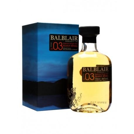 BALBLAIR 2003 VINTAGE 46% 0,05l