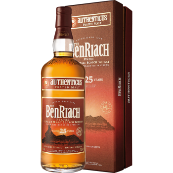 BENRIACH 25YO AUTHENTICUS 46%