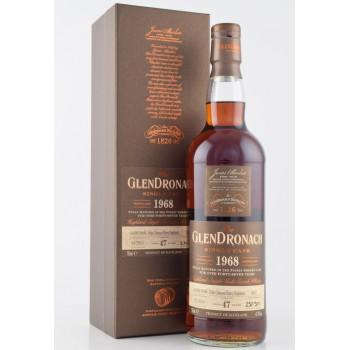 GLENDRONACH 1968 0,7L CASK 5837 45,9% 47y