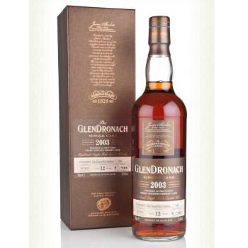 GLENDRONACH 2003 0,7L CASK 930 53,4% 12yo