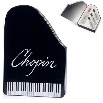Chopin miniaturki wódki w fortepianowej puszce