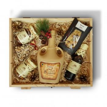 Zestaw świąteczny z miodem pitnym Staropolski trójniak