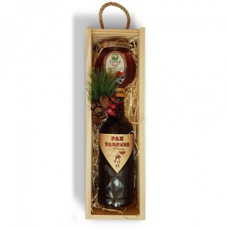Zestaw świąteczny z wódką aroniową