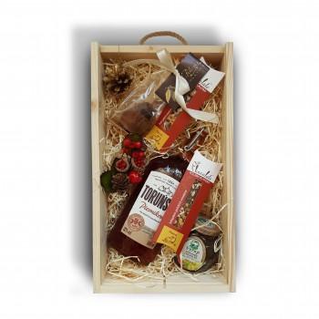 Zestaw świąteczny z wódką Toruńską