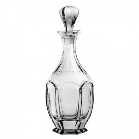 Karafka kryształowa 0,8l - nowoczesna