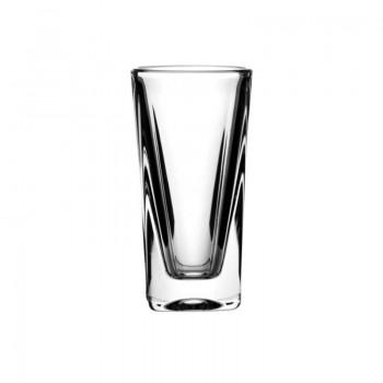 Kryształowe kieliszki do wódki - 6szt - orginalne