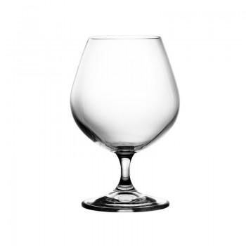 Kieliszki kryształowe do brandy - 6szt
