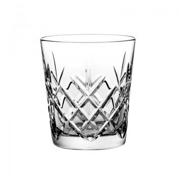Szklanki kryształowe do whisky - 6szt - ananas