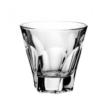 Szklanki kryształowe do whisky - 6szt- nowoczesne