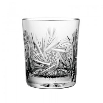 Szklanki kryształowe do whisky - 6szt - młynek
