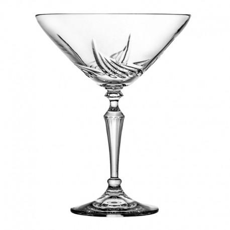 Kryształowe kieliszki do martini - 6 szt