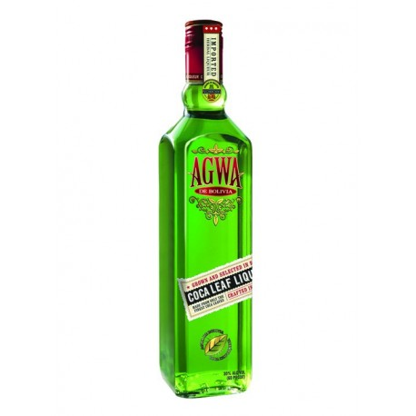AGWA - coca leaf liqueur - straight from Bolivia 0,7l