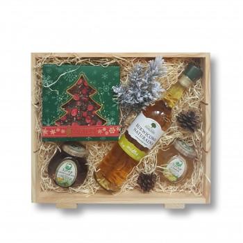 Zestaw świąteczny z wódką Bukwicowa Naturalna