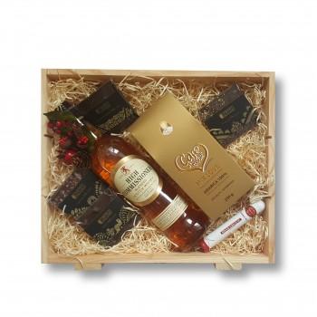Zestaw świąteczny z whisky High Commissioner
