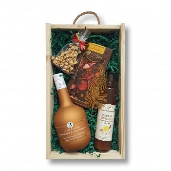Zestaw świąteczny z likierem karmelowym z solą morską