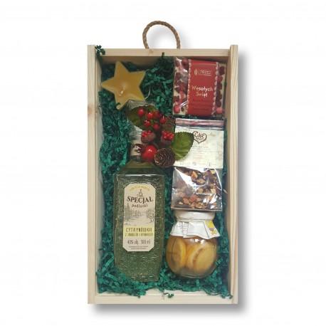 Zestaw świąteczny z cytrynówką Specjał Podlaski