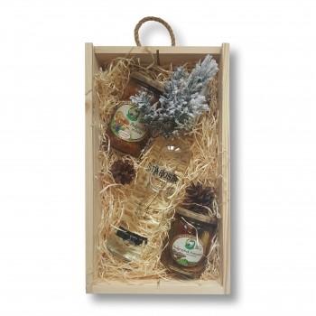Zestaw świąteczny z wódką Starosta