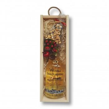Zestaw świąteczny z wódką Starotoruńską