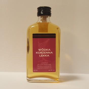 Wódka Korzenna Lekka 40% 0,05l